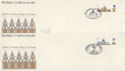 1969-05-28 Cathedrals Stamps x6 Relevant Pmk FDC (63834)