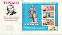 1979-08-27 Tuvalu Rowland Hill Stamps M/S FDC (63904)