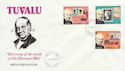 1979-08-27 Tuvalu Rowland Hill Stamps FDC (63906)