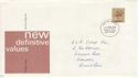 1977-02-02 Definitive Stamp Bognor FDC (63923)