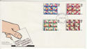 1979-05-09 Elections Stamps St Albans FDC (63945)