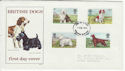 1979-02-07 Dogs Stamps Newcastle FDC (63953)
