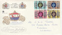 1977-05-11 Silver Jubilee Stamps Llanelli FDC (63954)