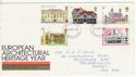 1975-04-23 Architectural Heritage Stamps FDC (63957)