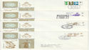 1968-05-29 Anniversaries Stamps x4 SHS FDC (63993)