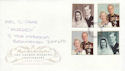 1997-11-13 Golden Wedding Stamps Doncaster FDC (64024)