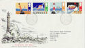 1985-06-18 Safety at Sea Stamps Bureau FDC (64036)