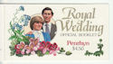 Penrhyn Royal Wedding Official Booklet Stamps (64069)