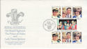 1981-07-29 Guernsey Royal Wedding Stamps FDC (64118)