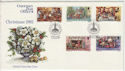 1982-10-12 Guernsey Christmas Stamps FDC (64132)