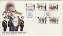 1983-01-18 Guernsey Boys Brigade Stamps FDC (64133)