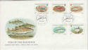 1985-01-22 Guernsey Fish Stamps FDC (64139)
