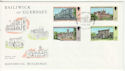 1976-10-14 Guernsey Buildings Stamps FDC (64152)