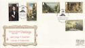 1980-11-15 Guernsey Le Lievre Paintings Stamps FDC (64171)