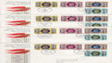 1977 Silver Jubilee Tour QEII x 10 Covers (64228)