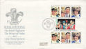 1981-07-29 Guernsey Royal Wedding Stamps FDC (64266)
