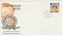 1978-10-18 IOM Christmas Stamp FDC (64273)