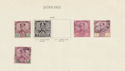 Johore Stamps on page (64374)