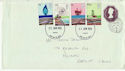1978-01-25 Energy Stamps Cardiff FDC (64383)