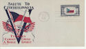 Czechoslovakia 1943 Facsimile First Day Cover (64386)