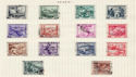 Italy Stamps on Page (64445)