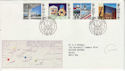 1987-05-12 Architects in Europe Stamps Ipswich FDC (64479)
