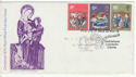 1970-11-25 Christmas Stamps Bethlehem FDC (64503)