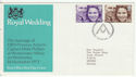 1973-11-14 Royal Wedding Stamps Bureau FDC (64521)
