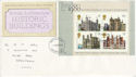 1978-03-01 Historic Buildings M/Sheet FDC (64538)