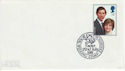 1981-07-22 Royal Wedding Stamp Exeter FDC (64599)