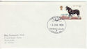 1978-07-05 Horse Stamp British Library FDC (64609)
