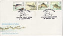 1983-01-26 River Fish Stamps Teign FDC (64614)
