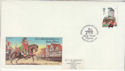 1985-07-30 Discount Booklet Stamp Bath FDC (64615)