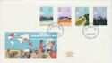 1983-03-09 Commonwealth Day Stamps London WC2 FDC (64637)
