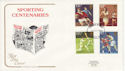 1980-10-10 Sport Stamps Plymouth FDC (64778)