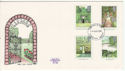 1983-08-24 British Gardens Stamps Plymouth FDC (64795)
