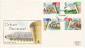 1984-04-10 Urban Renewal Stamps Plymouth FDC (64796)