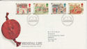 1986-06-17 Medieval Life Stamps Bureau FDC (64831)