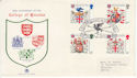 1984-01-17 College Of Arms Stamps London EC4 FDC (64883)