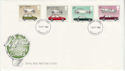 1982-10-13 British Motor Cars Stamps London FDC (64921)