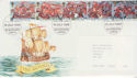 1988-07-19 The Armada Stamps Blackburn FDC (64928)