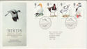 1989-01-17 Birds Stamps Sandy FDC (64937)