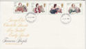1980-07-09 Authoresses Stamps London FDC (64957)