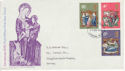 1970-11-25 Christmas Stamps London WC FDC (64997)