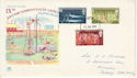 1970-07-15 Commonwealth Games Stamps Battersea FDC (65012)