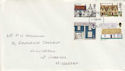 1970-02-11 Rural Architecture Stamps London FDC (65030)