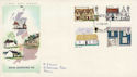 1970-02-11 Rural Architecture Stamps Croydon FDC (65040)