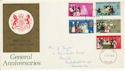 1970-04-01 Anniversaries Stamps Teeside FDC (65048)