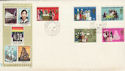 1970-04-01 Anniversaries Stamps Chingford cds FDC (65049)