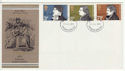 1971-07-28 Literary Anniversaries Stamps Newcastle FDC (65058)